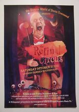 DEVIN TOWNSEND The Retinal Circus - concert poster / London 2012.