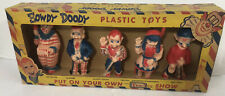 Howdy Doody Show + 3 Tee-Vee Toy Collection  original box  Kagran Plastic Puppet