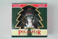 Coca-Cola Polar Bear Collection Polar Bear Swinging On Bottle Opener With Box