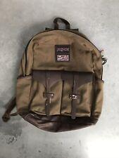 Jansport backpack Green/Brown bottom Insulated Pockets