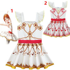 Kids Girls Summer Fashion Halloween Cosplay Party Ballerina Graceful Dance Dress
