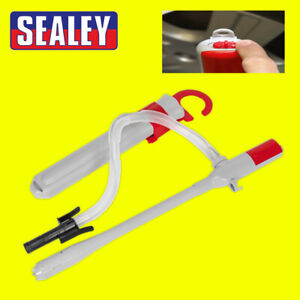Sealey TP80 Jerry Can Syphon Pump Battery Powered Diesel Water Oil Fluid