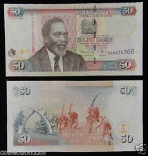 KENYA 50 Shillings Paper Money 2009 UNC