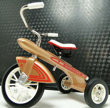 Tricycle 1960s Vintage 1 Rare Show Gold Classic Metal READ DESCRIPTION