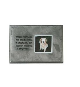 Memory Stone Photo Frame For Pets and Dogs When Someone You Love Becomes memory