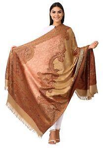 Women's Kashmiri Shawl, Jacquard palla, Warm and soft, Faux Pashmina Design
