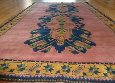 1970's ANTIQUE CAUCASIAN KAZAK  TURKISH HANDMADE RUG 5 X 7 ft