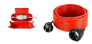Verlängerungskabel Verlängerungs Strom kabel 5m 10m 15m 20m 25m 30m Schutz IP44