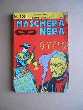 MASCHERA NERA SERIE Gialla n°13 1963 editoriale Corno  [G449] BUONO