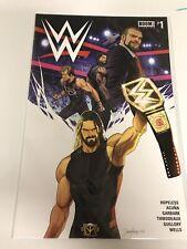 WWE ASHCAN MINI COMIC NM JAMAL CAMPBELL COVER RARE HTF JOHN CENA BOOM 2019 PROMO