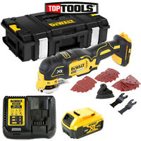 Dewalt DCS355 18V Multi Tool With Acc. + 1 x 5Ah Battery, Charger & DS150 Case