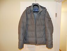 Guess Jacket Size XL Men Wool coat Quilted Puffer Heavy Jacket ,new without tags