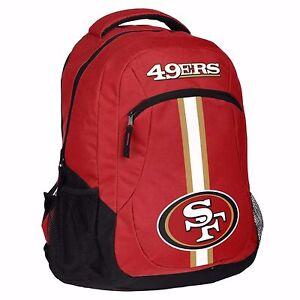 San Francisco 49ers NFL Logo Action Backpack