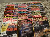 Lot of 27 CLASSIC TOY TRAINS MAGAZINES Years 1999 to 2001