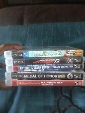 PS3 (5) Games Lot