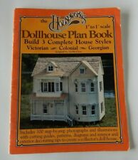 Houseworks Dollhouse Plan Book 3 Complete Styles Victorian Colonial Georgian