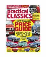 PRACTICAL CLASSICS - Classic Car PRICE GUIDE 2021 - MG BMW FORD Mercedes Audi +