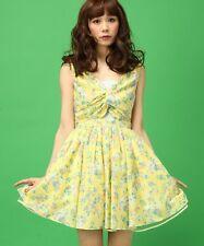 Pretty Japanese Sweet Lolita Cute Retro Cotton Floral Dress Princess Dress