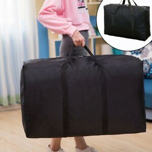 Moving Bag Wear-resistant Oxford Cloth Woven Bag Clothes Finishing Storage Bag