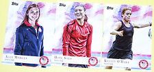 2012 Topps Olympics Cards 3-Card Women's Soccer Lot Solo, Morgan, OHara