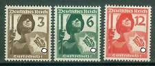 Deutsches Reich 643 - 645 , ** , * ,  o , Luftschutz
