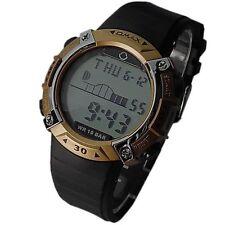 Armbanduhren aus Kunststoff mit 24-Stunden-Zifferblatt und Matte für Damen