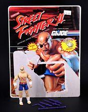 Gi Joe Street Fighter SAGAT Action Figure Hasbro Cobra 3 3/4 T2