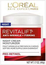 L'Oreal Paris, RevitaLift Anti-Wrinkle + Firming Night Moisturizer 1.7 oz