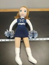 """New listing Vintage Dallas Cowboys Cheerleader Doll NFL. 17"""" Great condition. (S10)"""