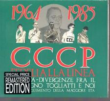CD CCCP FEDELI ALLA LINEA AFFINITA' DIVERGENZE .2008 VIRGIN DIGIPACK SEALED
