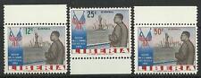 LIBERIA 1962 USA VISIT AIR MAIL SET MINT