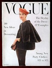 Vogue Magazine ~ October 15, 1955 ~ Anne Ste Marie Rutledge Karen Radkai