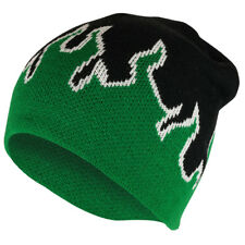 Kids Fire Flame Pattern Knitted Short Beanie Cap - FREE SHIPPING