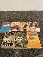 Cassette Tape Lot Of 7 Singles Various Artists