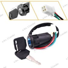 4 Wire Ignition Key Barrel Switch For 50cc 110cc 125cc 250cc ATV Quad Dirt Bike