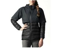 ADIDAS CLIMAHEAT LIGHT Black Down Running Hoodie Jacket M Womens