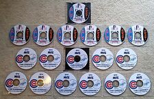 CHICAGO CUBS 10 GAME/18 DVD SET - ALL 2016 NLDS & NLCS PLAYOFF GAMES VS SF & LA