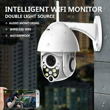 Outdoor IR Day & Night Color 1080p Security IP Dome Camera Wifi WLAN PZT Webcam