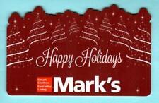 MARK'S ( Canada ) Happy Holidays 2012 Die-Cut Gift Card ( $0 )