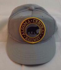 Childs SUPER RARA ALGOMA Central Railway Grigio Cappellino americana Rockabilly
