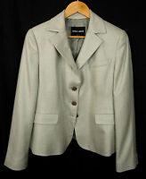 Giorgio Armani Black Label 100% Silk Women's Blazer Jacket Sz EU 46, US 12