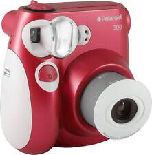 Fotocamera Istantanea Polaroid Macchina Fotografica Flash PIC300RED