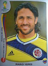 Panini 187 Mario Yepes Kolumbien FIFA WM 2014 Brasilien