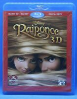 "coffret 3 disques Blu Ray + BR  3D + La copie digitale "" Raiponce "" Disney Bonus"