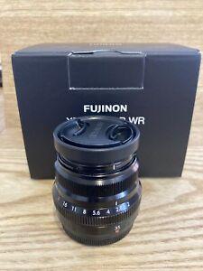 FUJI FUJINON XF 35mm F2 R WR Lens Black For Xt4 Xt3 X Pro