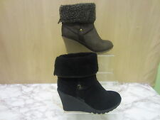 Mid Heel (1.5-3 in.) Pull On Wedge Women's Boots