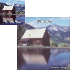 "New 4x4"" Tiffen Double Fog 1/2 Glass Filter # 44DF12"
