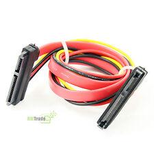 Delock SATA 22pin (7+15)  SATA extend power data Extension Cable 45cm