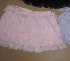 Capezio 10899C Mesh Fringie dance skirt 3 colors girls sizes Pastel colors