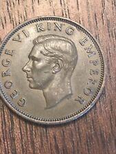 New Zealand 1/2 Penny KM#12 1941 AU